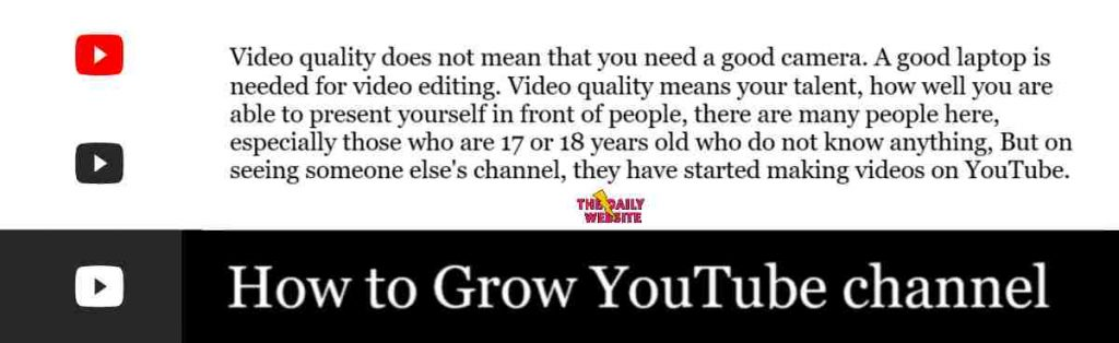 Best-Ways-How-to-Grow-YouTube-Channel-2020-The-Daily-Website