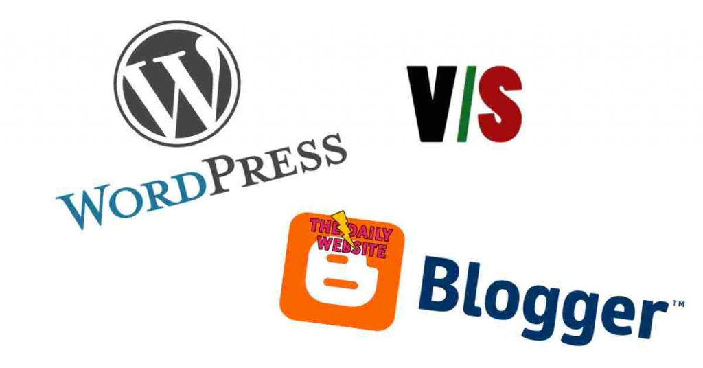 Blogger vs WordPress difference between blog and website (1)