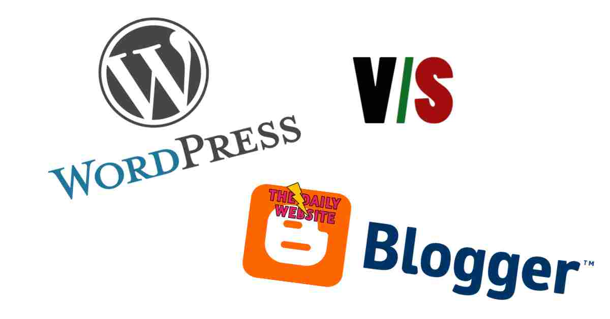 Blogger vs WordPress || difference between blog and website