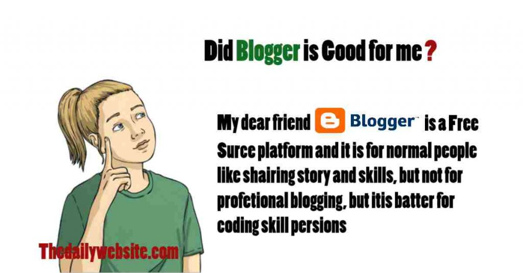 WordPress vs. Blogger || What is the difference between Google and WordPress?