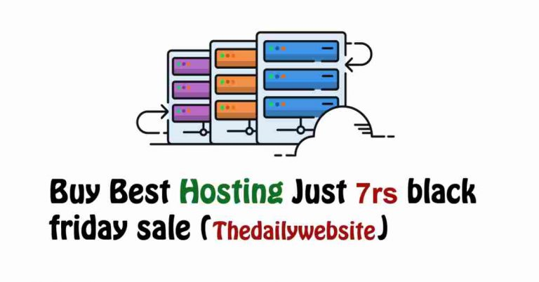 Cheap hosting Buy Best hosting Just 7rs black friday sale (1)