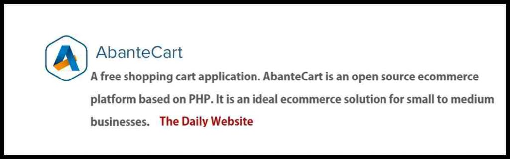 Abante Cart Software - 2021 Reviews, Beginner Guide & Demo