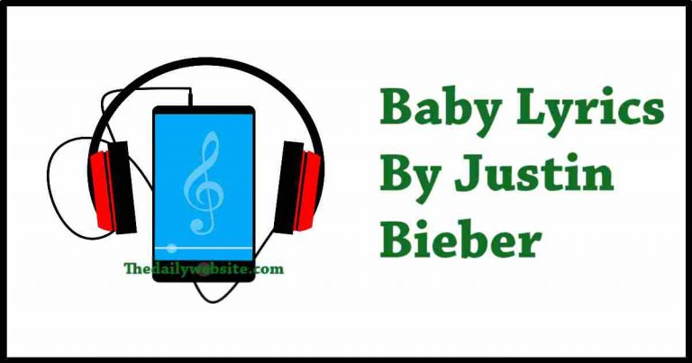 Baby lyrics 2021 Best 100% Complete Lyrics