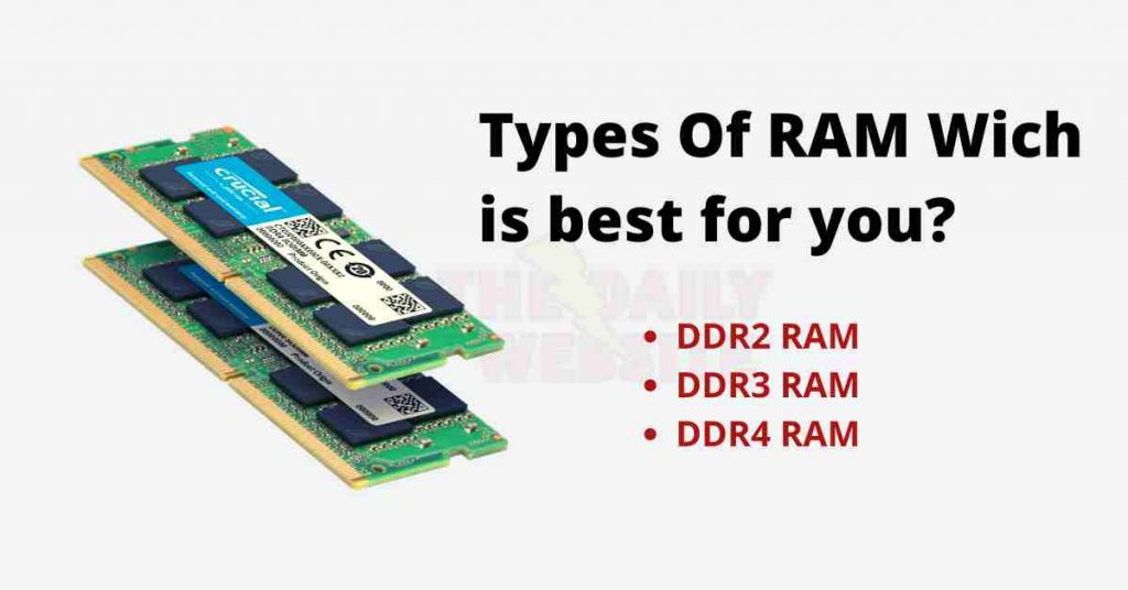 What Is RAM? 2021 Best Knowledge About DDR4 ram DDR3