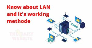 What is a LAN Local Area Network 3