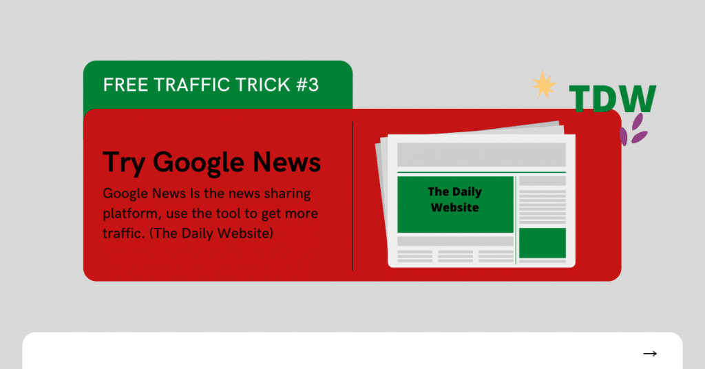 Free Traffic Sources - For Your Website Traffic