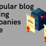 Write 2 popular blog hosting companies name