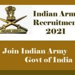 Indian Army MTS Recruitment 2021- Download Application Form