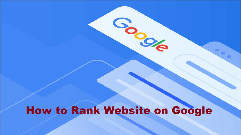 How To Rank Website